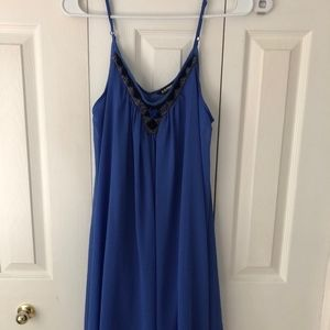 Express - Embroidered Shift Dress